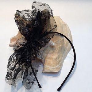 Tasha lace with sparkle headband